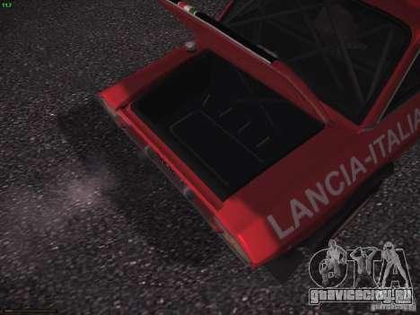 Lancia Fulvia Rally для GTA San Andreas вид сбоку