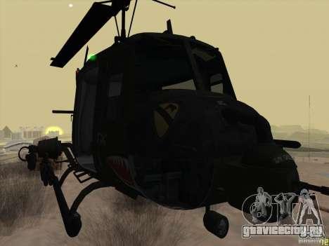 Вертолёт huey из call of duty black ops для GTA San Andreas вид справа