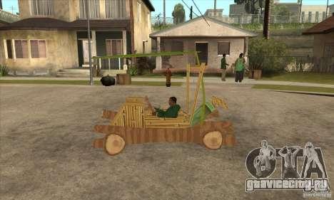New Police Madagascar для GTA San Andreas вид слева