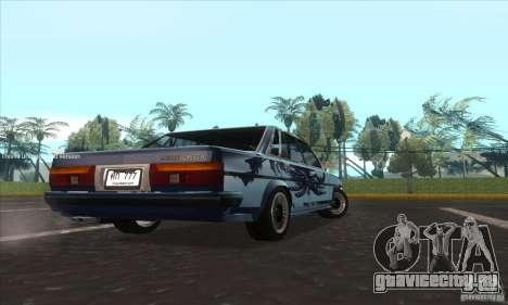 Toyota Cresta GX71 для GTA San Andreas вид сзади слева