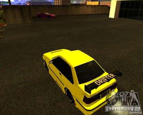 GTA VI Futo GT custom для GTA San Andreas вид слева