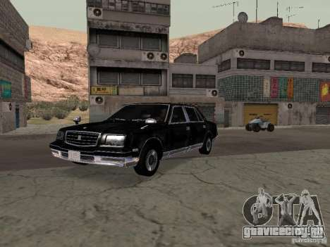 Toyota Century для GTA San Andreas вид справа