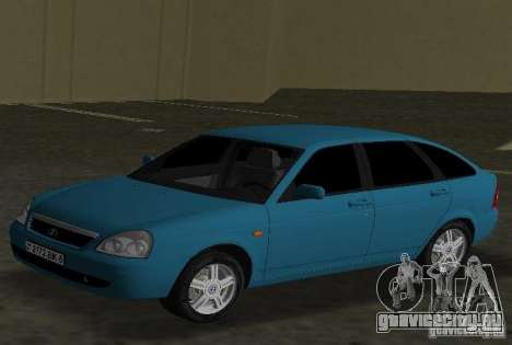 Lada Priora Хэтчбек для GTA Vice City вид слева