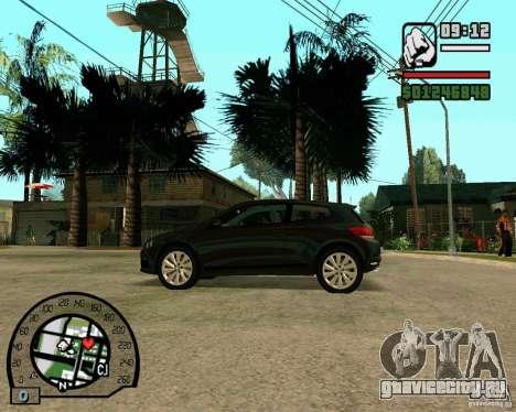 Volswagen Scirocco для GTA San Andreas вид справа