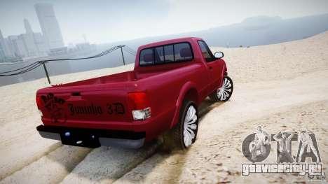 Ford Ranger для GTA 4 вид сзади слева