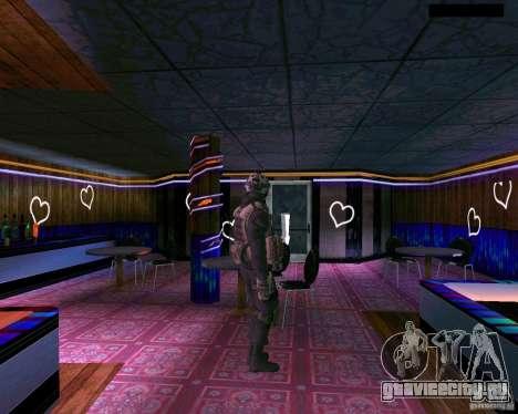 Второй скин солдата из CoD MW 2 для GTA San Andreas пятый скриншот