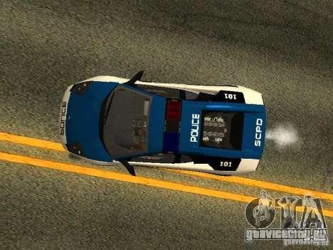 Lamborghini Murcielago LP640 Police V1.0 для GTA San Andreas вид сбоку