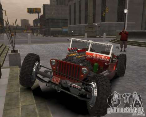 Willys Hot-Rod для GTA 4
