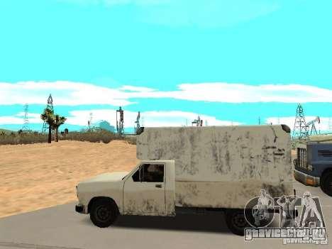 New Benson для GTA San Andreas вид слева