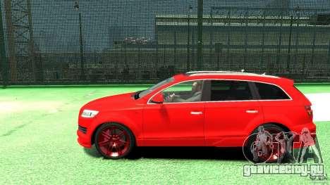 Audi Q7 v12 TDI для GTA 4 вид слева