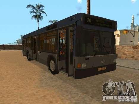 МАЗ 103 для GTA San Andreas вид сбоку