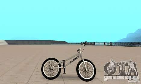 Велотриал CS bikes для GTA San Andreas вид сзади слева