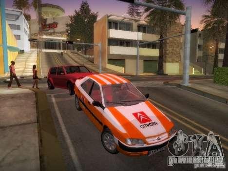 Citroën Xantia для GTA San Andreas вид снизу
