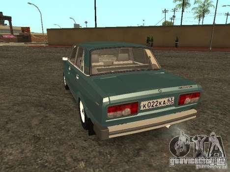 ВАЗ 2105 v.2 для GTA San Andreas вид сзади слева