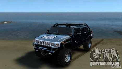 Hummer H2 4x4 OffRoad для GTA 4