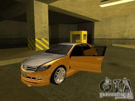 GTAIV Schafter Modded для GTA San Andreas