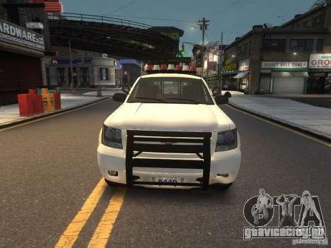Chevrolet Tahoe NYPD V.2.0 для GTA 4
