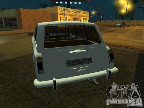 ВАЗ 2106 Универсал для GTA San Andreas вид справа