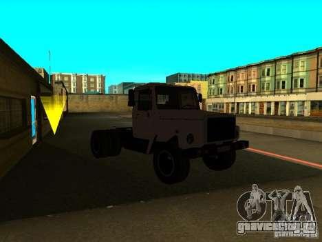 ГАЗ 3309 седельный тягач для GTA San Andreas вид справа