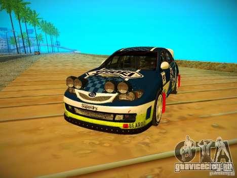 Subaru Impreza WRX STi N14 Rallycross для GTA San Andreas вид слева