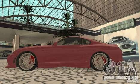 Toyota Supra Tunable 2 для GTA San Andreas вид справа