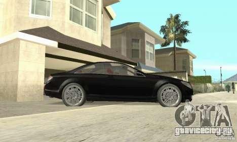 Mercedes-Benz CL500 для GTA San Andreas вид сзади слева