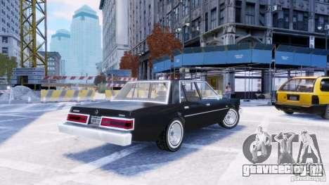 Dodge Diplomat 1983-85 для GTA 4 вид слева