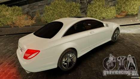 Mercedes-Benz CL65 AMG Stock для GTA 4 вид слева