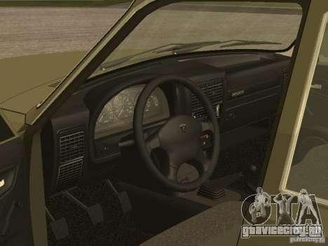 ГАЗ 3110 v 1 для GTA San Andreas вид сзади