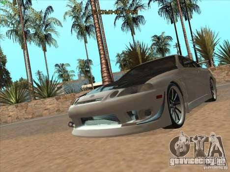Toyota Soarer (JZZ30) для GTA San Andreas вид сбоку