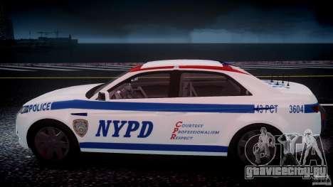 Carbon Motors E7 Concept Interceptor NYPD [ELS] для GTA 4 двигатель