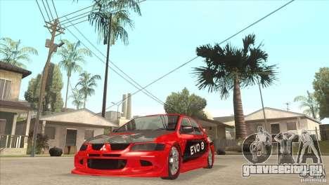 Mitsubishi Evo 8 Tuned для GTA San Andreas