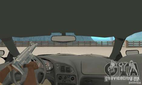 Mitsubishi Eclipse FnF для GTA San Andreas вид сзади