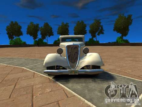 Ford Coupe 1934 для GTA 4 вид слева
