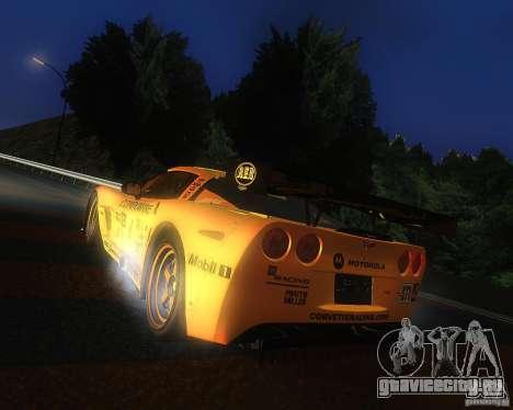 Chevrolet Corvette Drift для GTA San Andreas вид слева