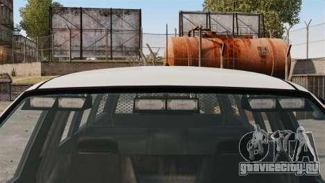 Полицейский Landstalker ELS для GTA 4 вид сзади