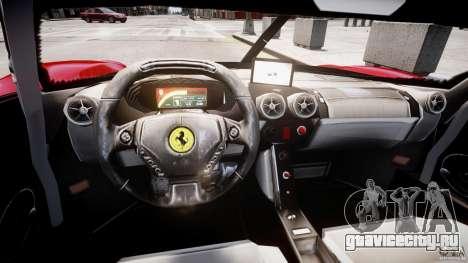 Ferrari FXX для GTA 4 вид справа