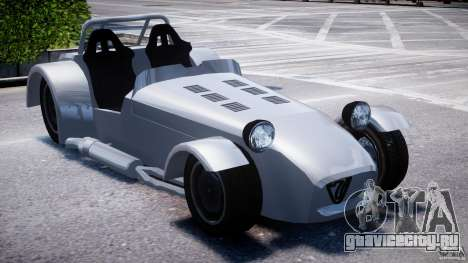 Caterham Super Seven для GTA 4 вид справа
