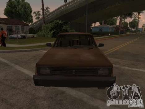 Машина 2 из CoD MW для GTA San Andreas вид сзади