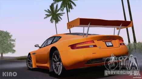 Aston Martin Racing DBRS9 GT3 для GTA San Andreas вид справа