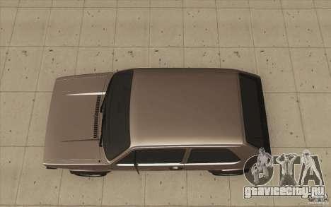 Volkswagen Golf Mk1 - Stock для GTA San Andreas вид справа