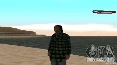 New skin Grove HD для GTA San Andreas третий скриншот