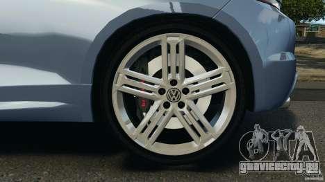 Volkswagen Scirocco R v1.0 для GTA 4 вид сзади