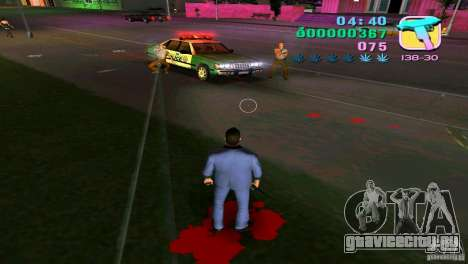 Истекание кровью для GTA Vice City третий скриншот