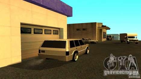 Huntley Sport для GTA San Andreas вид сзади слева