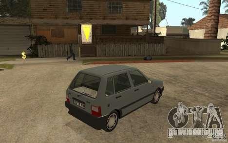 Fiat Uno 70s для GTA San Andreas вид справа