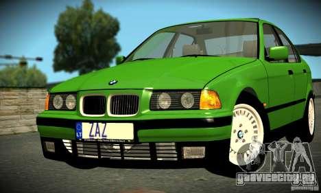 BMW E36 320i для GTA San Andreas вид слева