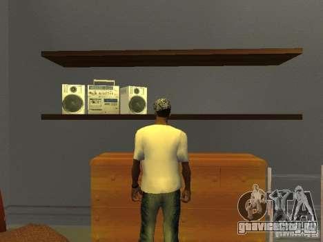 Футболка супермена для GTA San Andreas второй скриншот