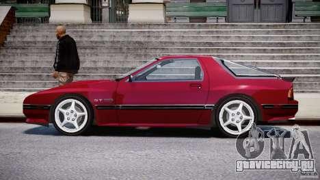 Mazda RX7 FC3S v2 FINAL для GTA 4 вид слева