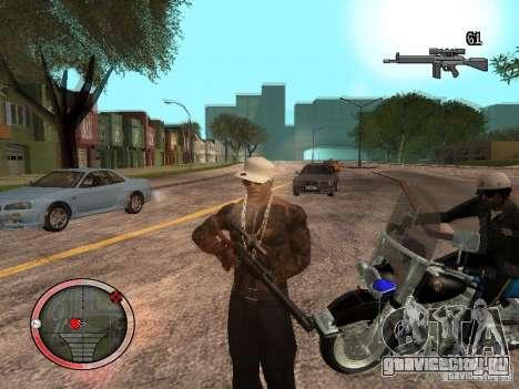 GTA IV HUD Final для GTA San Andreas третий скриншот